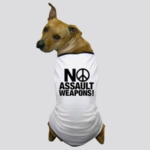 Ban Assault Weapons Dog T-Shirt