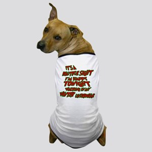 Winter Underwear Dog T-Shirt