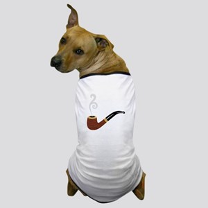 Tobacco Pipe Dog T-Shirt