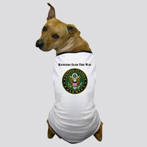 Army Rangers Lead The Way Dog T-Shirt