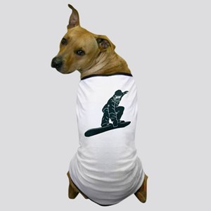 SNOWBOARDER Dog T-Shirt