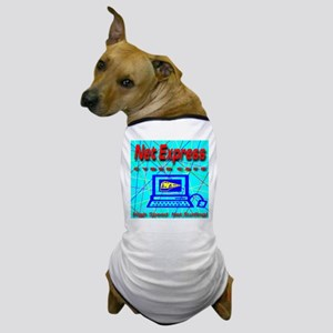 The Net Express Cyber Cafe Dog T-Shirt