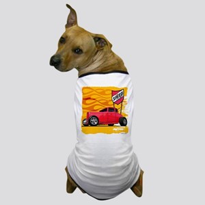 Speed '32 Red Coupe Dog T-Shirt