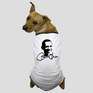 Obama Autographed Picture Dog T-Shirt