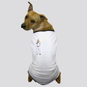 MY BOY LOOKS GOOD IN WHITE Dog T-Shirt