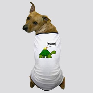 Snail Turtle Ride Dog T-Shirt