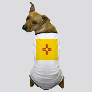 Flag of New Mexico Dog T-Shirt