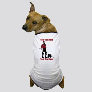 Lumberjack CUSTOM TEXT Dog T-Shirt