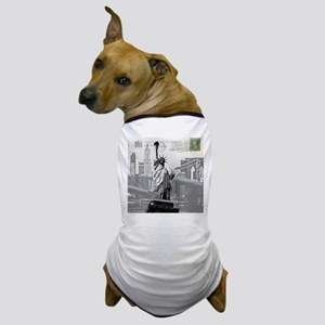 New York statue of liberty Dog T-Shirt