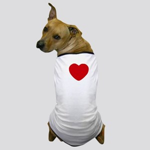 I Heart San Diego White Text Dog T-Shirt