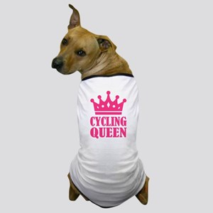 Cycling queen champion Dog T-Shirt