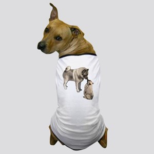 elkie adult and puppy5 Dog T-Shirt