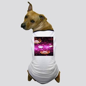 wl_Square Canvas Pillow Dog T-Shirt