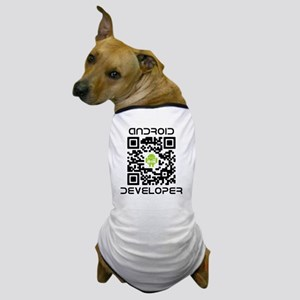 android-qr-3inch-300dpi Dog T-Shirt