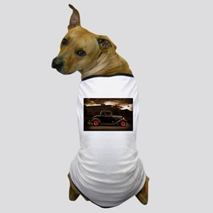 4268463b 1932 black ford 5 window Dog T-Shirt
