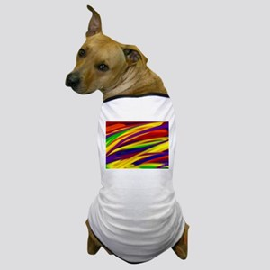 Gay rainbow art Dog T-Shirt