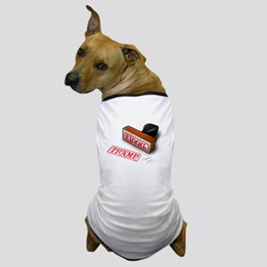 Tramp Stamp Dog T-Shirt