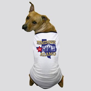 Texas Remember the Alamo Dog T-Shirt