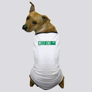West End Avenue in NY Dog T-Shirt