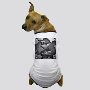 The X Zone Logo Steel Box_8x8 Dog T-Shirt