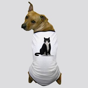 Tuxedo Kitty Cat Dog T-Shirt