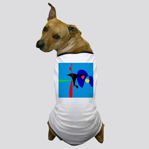 Abstract Expressionism Simple Digital Art Dog T-Sh
