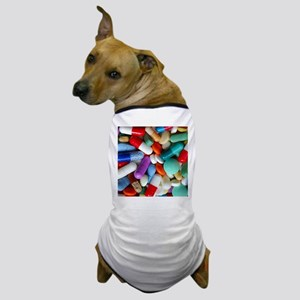 pills drugs Dog T-Shirt