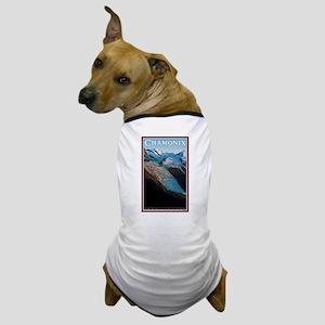Glacier des Bossons Dog T-Shirt