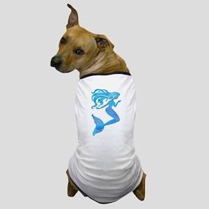 Watercolor Mermaid Dog T-Shirt