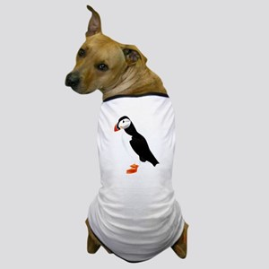 Pretty Puffin Dog T-Shirt