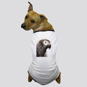 African Grey Parrot Dog T-Shirt