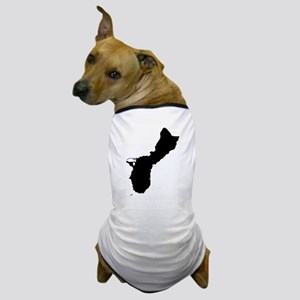 Guam Silhouette Dog T-Shirt