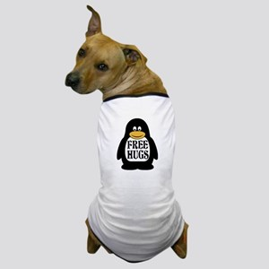 Free Hugs Penguin Dog T-Shirt