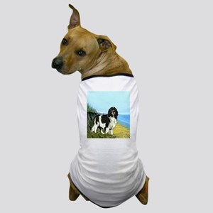 landseer on the beach Dog T-Shirt