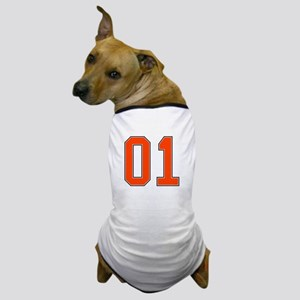 01 General Lee Dukes of Hazzard Car number Dog T-S