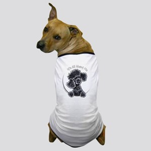 Black Poodle IAAM Full Dog T-Shirt