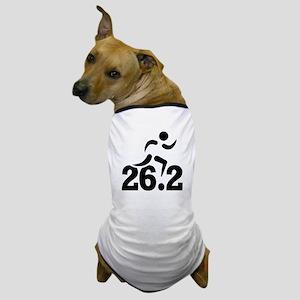 26.2 miles marathon Dog T-Shirt