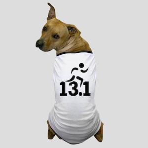 Half marathon runner Dog T-Shirt