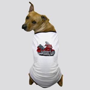 Goldwing Red Bike Dog T-Shirt