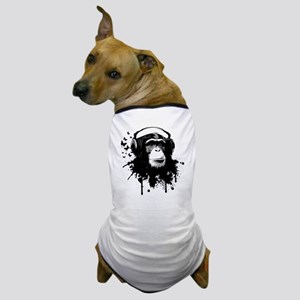 Headphone Monkey Dog T-Shirt