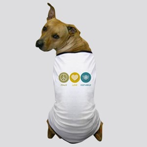 Peace Love Food Service Dog T-Shirt