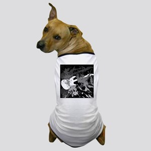 guitar splatterbackground Dog T-Shirt