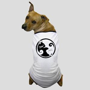 yin-yang-cat Dog T-Shirt