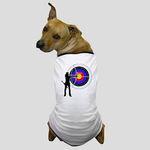 archery man Dog T-Shirt