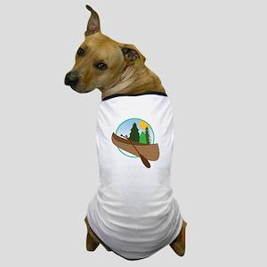 Canoe Logo Dog T-Shirt