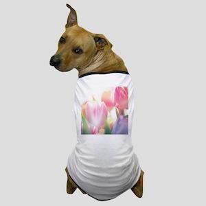 Beautiful Tulips Dog T-Shirt