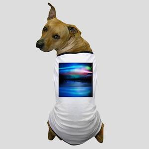 Northern Lights Dog T-Shirt