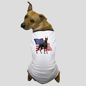 flag2 Dog T-Shirt