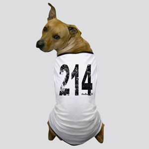 Dallas Area Code 214 Dog T-Shirt