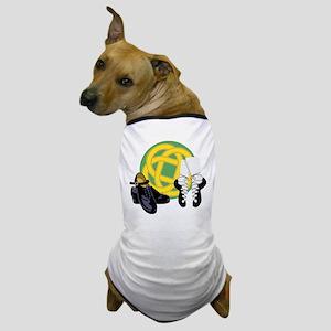 Celtic Knot Irish Shoes Dog T-Shirt